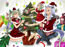 Christmas with family by HimenoRenai