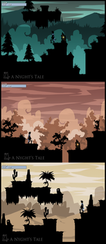 A Nyghts Tale promo screens by ZestyDoesThings
