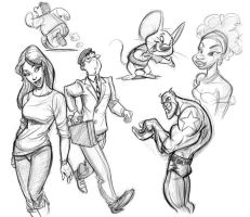 More older doodles by tombancroft