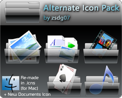 Alternate Icons for Mac by zsdg07