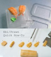 Prawn Ebi Sushi Tutorial by Snowfern