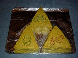 Triforce Cake by AdamTheViking