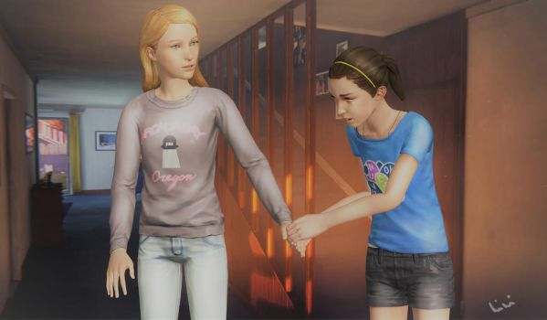 Please stop him! - Life is Strange Ep3 by himi-ko