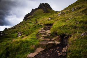 Rocky Path by fadingechoes101
