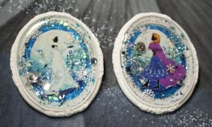 Frozen brooches by May0315