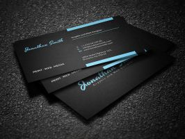 Clean Personal Business Card by nazdrag
