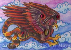 ACEO Gryphon 02 by rachaelm5