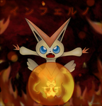 Victini's Inferno by Lunecho