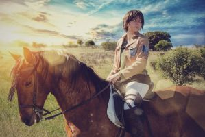 Eren Jaeger Cosplay - Shingeki no Kyojin Cosplay by EliCavallone