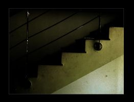 stairs in my school by toonrama