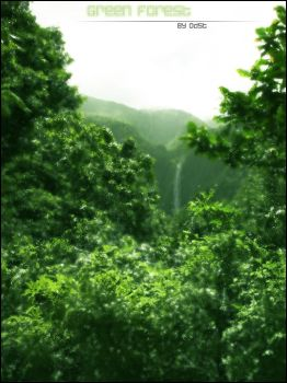 Green Forest '- by Odst