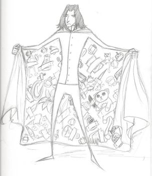 Inside Snape's Robes by the-sadistic-one