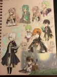 Fire Emblem Doodles by IWANTMYDANGUMBREON