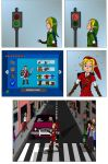 LOZ : Green and Red by Campanita42