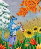Four chords for four seasons by DrimmsyDra