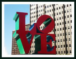 L O V E park, Philadelphia by raverqueenage