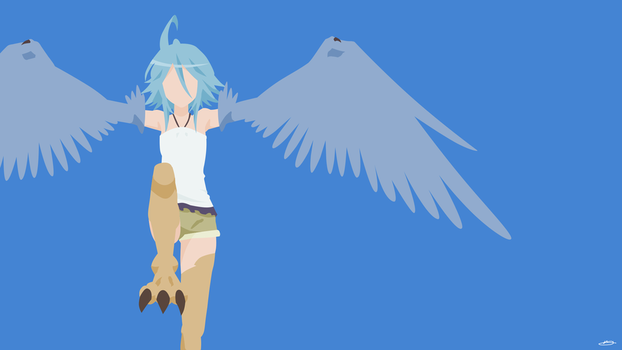 Papi the Harpy [Monster Musume] by SkyArctic
