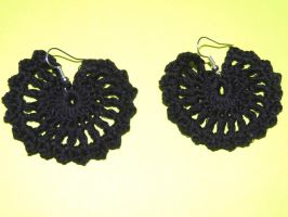 Crochet Earrings by Jjaystar94