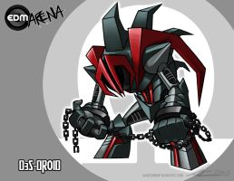EDM Arena Challenger Revealed: D3S-DROID by Nanaga