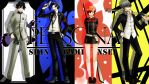 Persona 1, 3, 3P, 4 Wall Paper by dodomir23