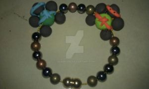 Mikey and Leo Bracelet by ScoopGirl
