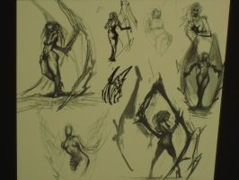 Kerrigan Concept Sketches by LanceOmikron