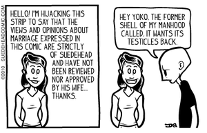 suedehead has a disclaimer by suedeheadcomic