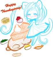 Happy Thanksgiving by TehButterCookie