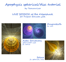 Apophysis Live Tutorial Log by heavenriver