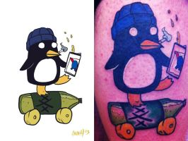 Chilly tattoo action by andehpinkard