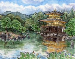 Kinkakuji Temple by angelac