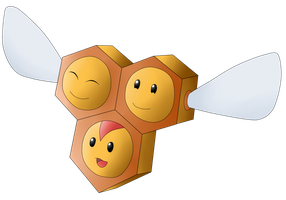 Gift Request 3: Combee by The-3Dan