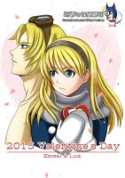 Happy 2015 Valentine's Day by tonnelee