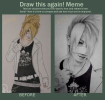 Draw this again meme: Reita by amy-m