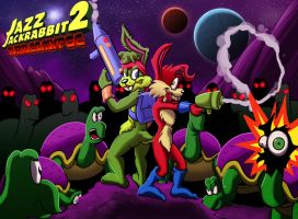 Jazz Jackrabbit: TURTLECALYPSE by Bogrim