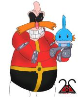 Robotnik and his MUDKIPZ by EXP282