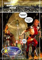Ex Astris: Homecoming Page One by johnfsfreeman
