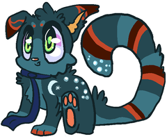 Lil Creature adopt auction 6(CLOSED) by Apriifox