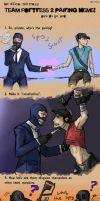 TF2: Pairing meme spyxscout by pinappleapple