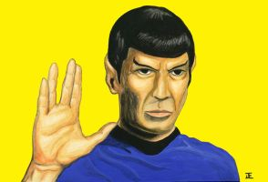 """Live Long and Prosper"" by TADASHI-STATION"