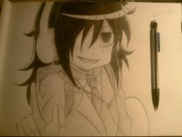 tomoko-watamote by DILLPICKLEZ