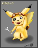 Pikachu by AdamClowery