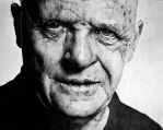 Anthony Hopkins by drSIDDHI