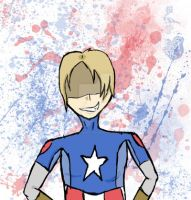 Captain America *SPLAT* by Pokefanforever6
