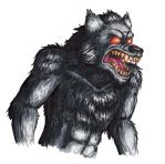 Copic Marker Werewolf by St0oiE