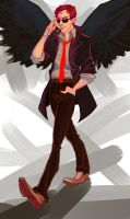 Hey there Crowley by Nonvieta
