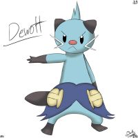 Dewott by DarkCrystal828
