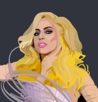 Lady Gaga Grammies by Ilko94
