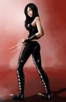 X-23 by azemnaibaf