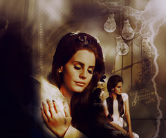 Blend Lana Del Rey 2 by shad-designs